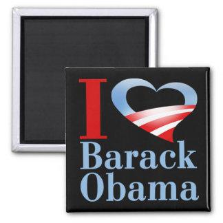 I Heart Barack Obama Magnet (black)