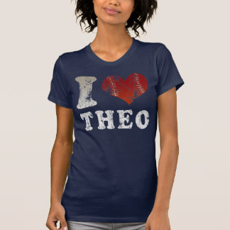 I heart baseball Theo t shirt