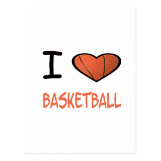 I Heart Basketball Post Cards