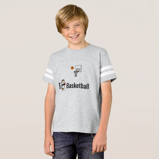 I Heart Basketball T-Shirt