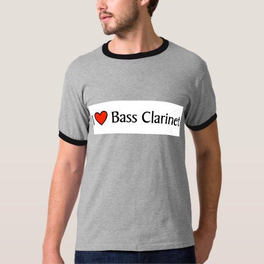 I heart Bass Clarinet T-Shirt