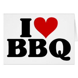I Heart BBQ Cards