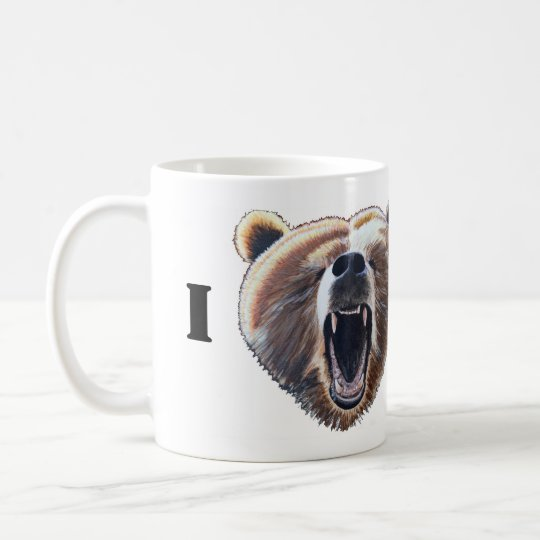 I Heart Bears Coffee Mug