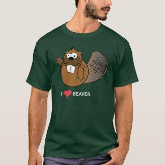 I HEART BEAVER T-Shirt