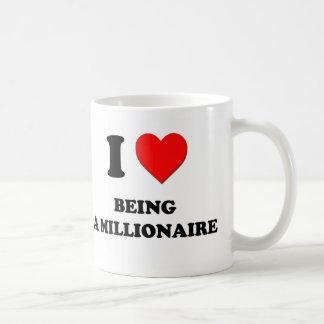 I Heart Being A Millionaire Mug