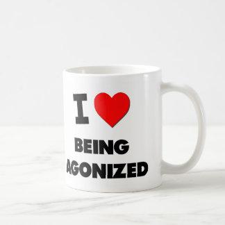I Heart Being Agonized Basic White Mug