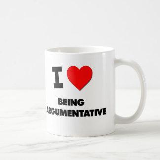 I Heart Being Argumentative Mug