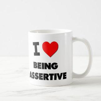 I Heart Being Assertive Coffee Mugs