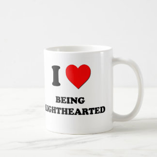 I Heart Being Lighthearted Coffee Mugs