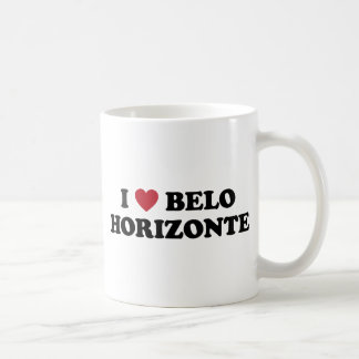 I Heart Belo Horizonte Brazil Basic White Mug