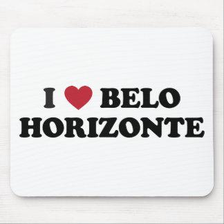 I Heart Belo Horizonte Brazil Mouse Pad