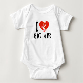 I Heart Big Air - Motocross Baby Bodysuit