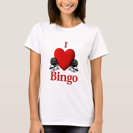I Heart Bingo T-Shirt