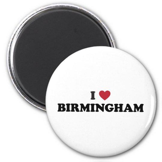 I Heart Birmingham England Magnet