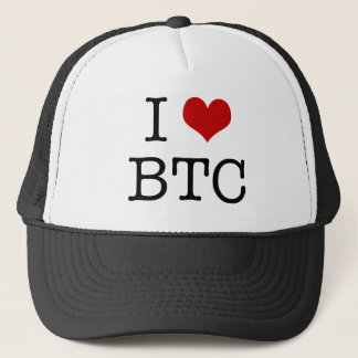 I Heart Bitcoin Trucker Hat