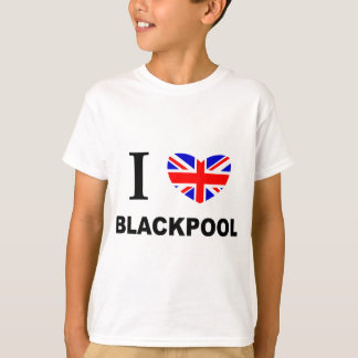 I Heart Blackpool. T-Shirt