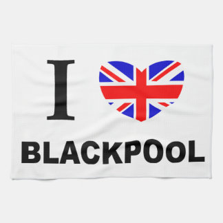 I Heart Blackpool. Tea Towel