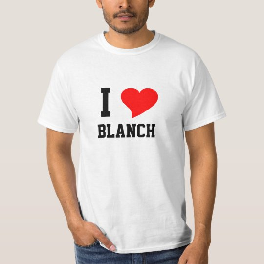 I Heart BLANCH T-Shirt