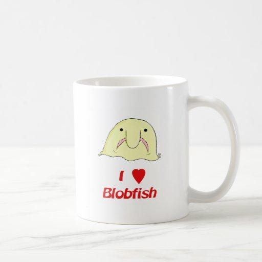 I heart blob mug