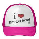 i heart boogerhead hats