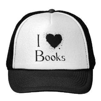 I Heart Books Cap
