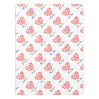 I Heart Books Tablecloth