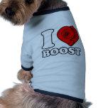 I Heart Boost Pet Tee