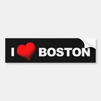 I Heart Boston [Darkness] Bumper Sticker