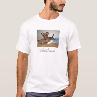 i [heart] bowie T-Shirt
