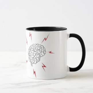 I heart BRAINS mug