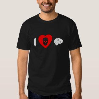 I Heart Brains Shirts