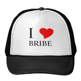 I Heart BRIBE Trucker Hats