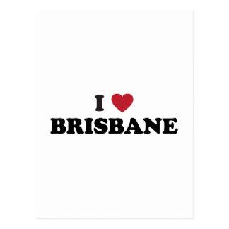 I Heart Brisbane Australia Postcard