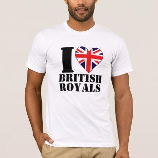 I Heart British Royals Shirt