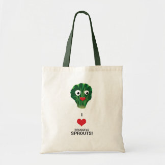 I Heart Brussels Sprouts tote bag