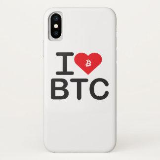 I Heart BTC (Bitcoin) Case