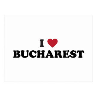 I Heart Bucharest Romania Postcard