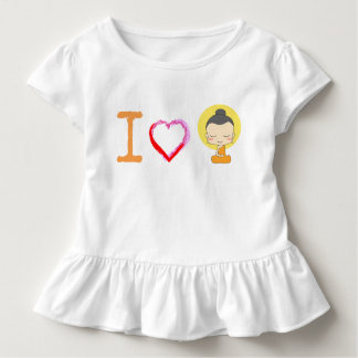 I Heart Buddha Toddler T-Shirt