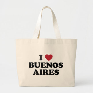 I Heart Buenos Aires Argentina Jumbo Tote Bag