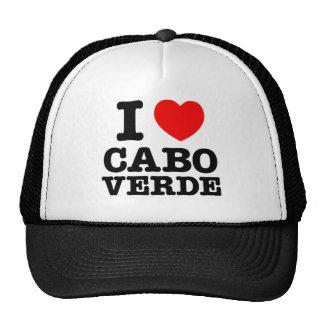 I Heart Cabo Verde Hats