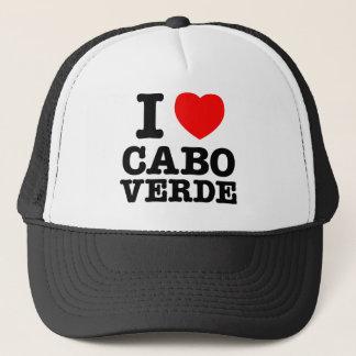 I Heart Cabo Verde Trucker Hat