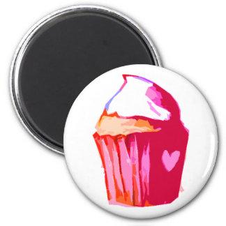i heart cake Magnet