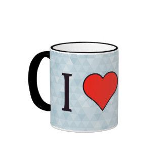 I Heart Calculators Ringer Mug