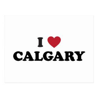 I Heart Calgary Canada Postcard