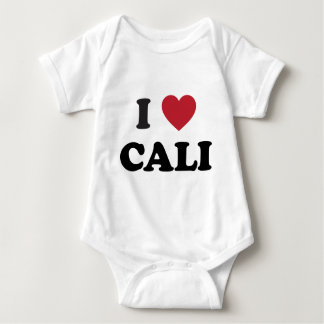 I Heart Cali Colombia Baby Bodysuit