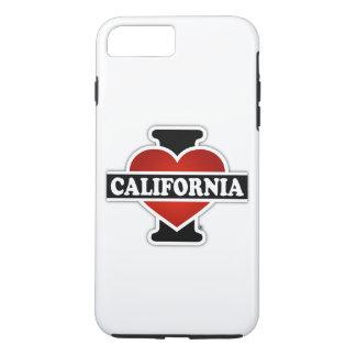 I Heart California iPhone 7 Plus Case