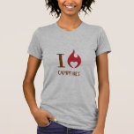 I Heart Campfires T Shirts