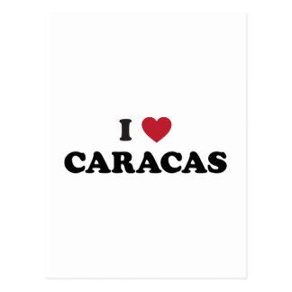 I Heart Caracas Venezuela Postcards