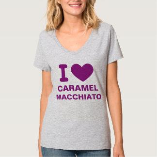 I Heart Caramel Macchiato Tee Shirt