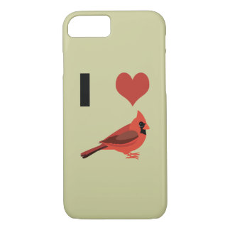 I heart Cardinals iPhone 7 Case